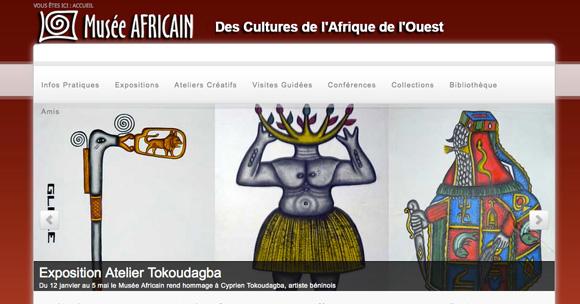 site Musée Africain de Lyon
