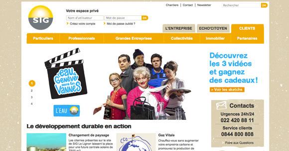 site Services Industriels de Genève