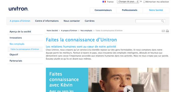 site Unitron