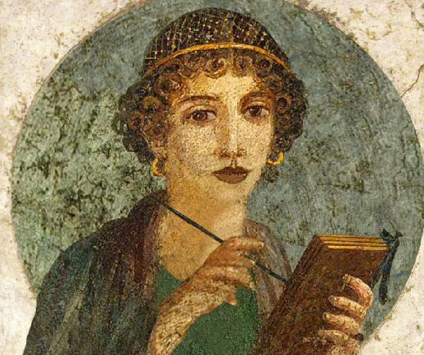 Sapho déesse des écrivains
