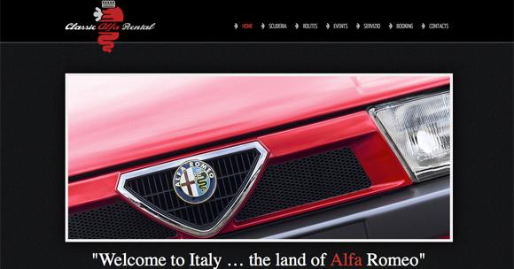 site Classical Alfa Rental