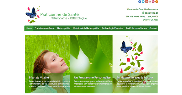 site Praticienne naturopathe