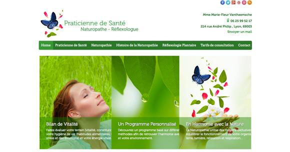 site Praticienne naturopathe