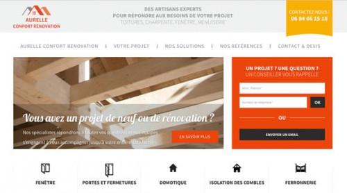 site Aurelle confort rénovation