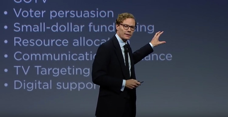 Alexander Nix Cambridge Analytica CA