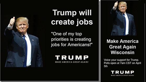 Slogans de campagne presidentielle de Trump