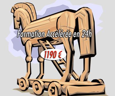 cheval de Troie formation accélérée en 24h 1190 €