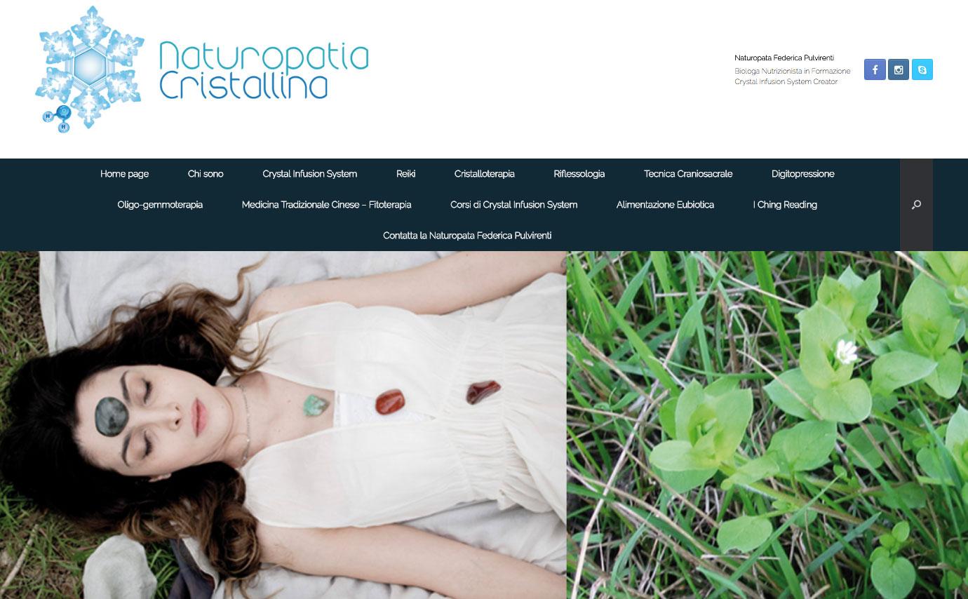 site Naturopathia cristallina