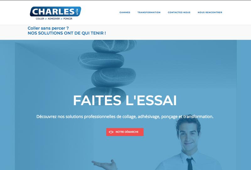 site Charles et cie