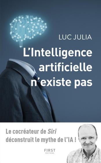 couverture livre luc julia l'intelligence artificielle n'existe pas